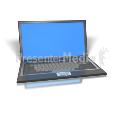 Laptop PowerPoint Clip Art