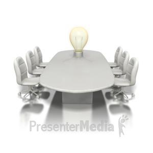 ID# 1246 - Conference Idea - Presentation Clipart
