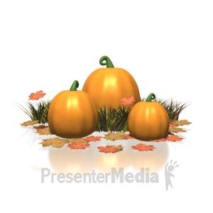 ID# 1274 - Pumpkin - Presentation Clipart
