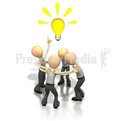 Brainstorming Idea  PowerPoint Clip Art
