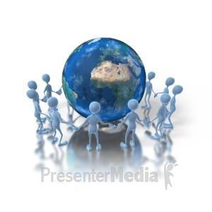 ID# 1292 - Unity Earth - Presentation Clipart