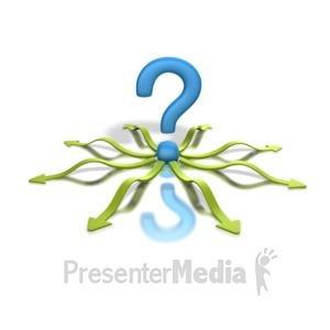 ID# 1313 - Question Direction  - Presentation Clipart