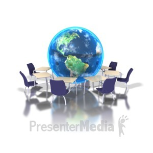ID# 1408 - Global Learning - Presentation Clipart