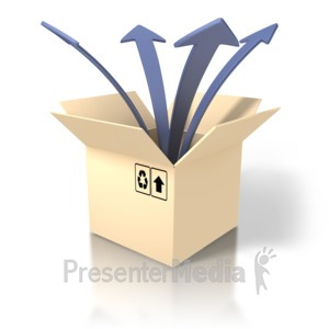 ID# 1493 - Out Of Box - Presentation Clipart