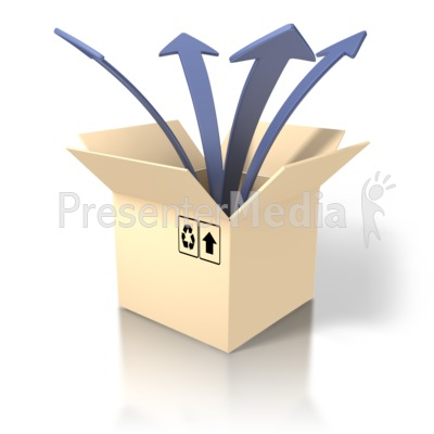 Out Of The Box Clipart | Info