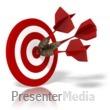 Bulls Eye Target Presentation clipart
