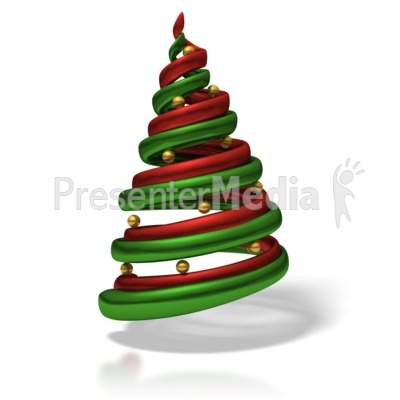 Stylized Christmas Tree - Holiday Seasonal Events - Great Clipart ...