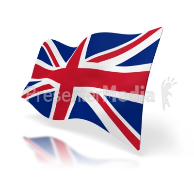 United kingdom flag a powerpoint template from presentermedia id 1517 uk flag perspective presentation clipart toneelgroepblik Image collections