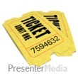 ID# 1635 - Pair Movie Tickets - Presentation Clipart