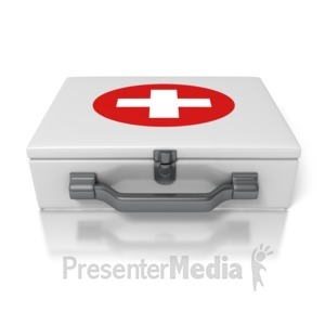 ID# 1643 - First Aid Kit - Presentation Clipart