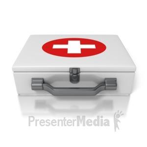 ID# 1643 - First Aid Kit - Presentation Clipart
