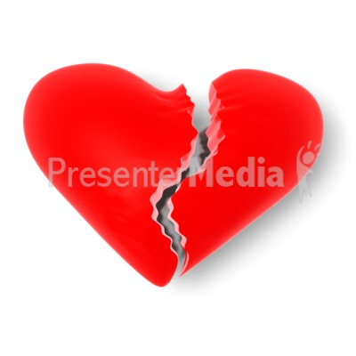 Broken Heart - Holiday Seasonal Events - Great Clipart for ...