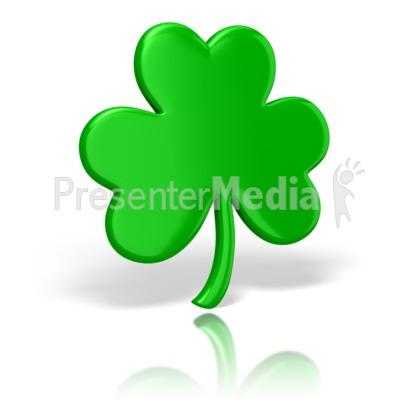 Celtic Shamrock St Patricks Day PowerPoint Clip Art