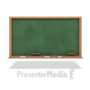 ID# 1955 - Education Chalkboard - Presentation Clipart