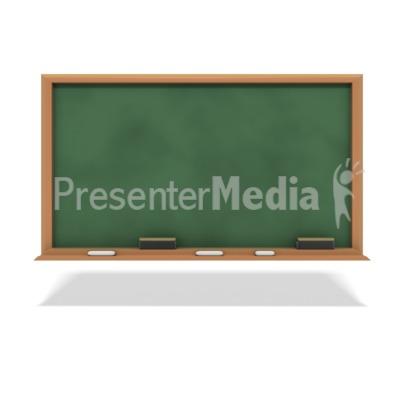 Education Chalkboard PowerPoint Clip Art