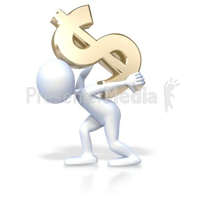 клипарт доллар: