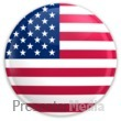 Badge of The United States Flag - Presentation Clipart