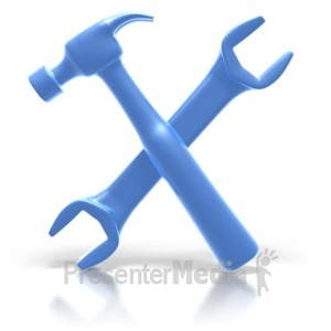 ID# 2088 - Hammer Wrench - Presentation Clipart