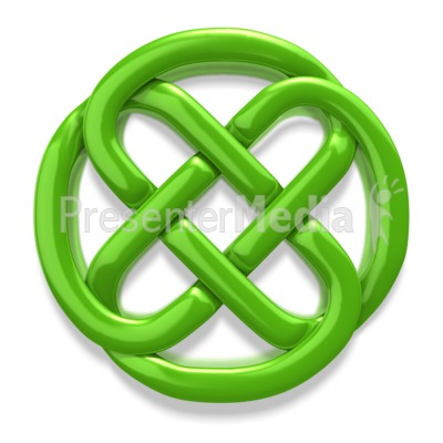 Celtic Knot Irish Circle PowerPoint Clip Art