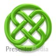 Celtic Knot Irish Circle Presentation clipart