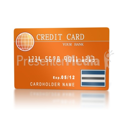 Banking Credit Card  PowerPoint Clip Art