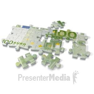 ID# 2173 - Euro Puzzle - Presentation Clipart