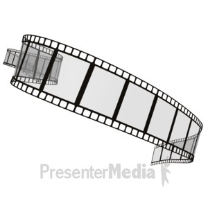 ID# 2269 - Film Strip - Presentation Clipart