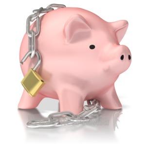 ID# 2295 - Piggy Bank Unlocked - Presentation Clipart