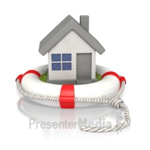 ID# 2311 - Housing Life Preserver  - Presentation Clipart