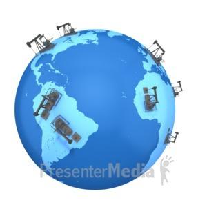 ID# 2393 - Western World Oil  - Presentation Clipart