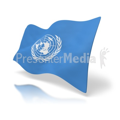 Presenter media powerpoint templates 3d animations and clipart id 2670 flag united nations presentation clipart toneelgroepblik Images