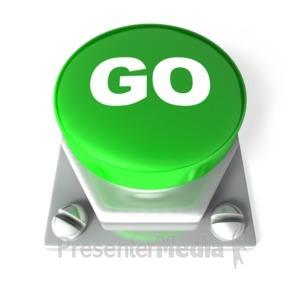 ID# 2671 - Go Button - Presentation Clipart
