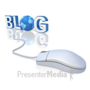 ID# 2729 - World Blog - Presentation Clipart