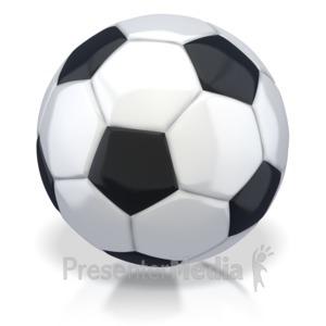 ID# 2744 - Soccer Ball - Presentation Clipart