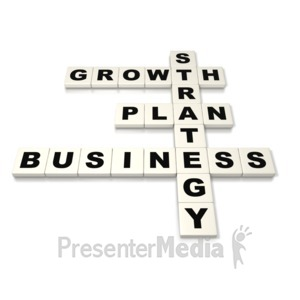 ID# 2760 - Business Plan Strategy  - Presentation Clipart