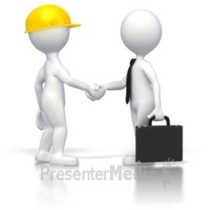 ID# 2808 - Business Deal  - Presentation Clipart