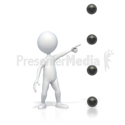 Bullet Point Point Medium High PowerPoint Clip Art