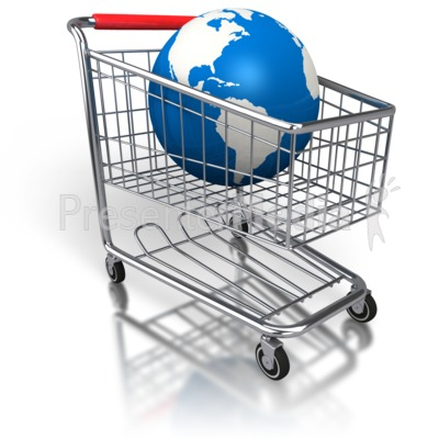 shopping cart global purchase home and lifestyle great clipart