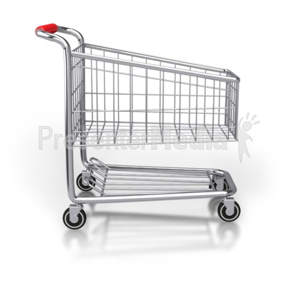 Cart Side Shopping Cart Side View