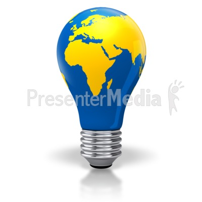 Light bulb world map africa europe asia science and technology light bulb world map africa europe asia powerpoint clip art gumiabroncs Image collections