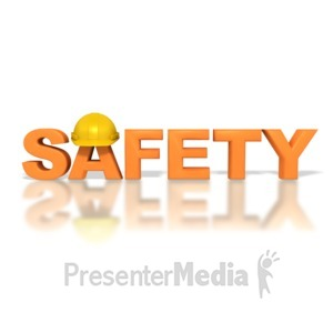 ID# 2895 - Safety Hardhat - Presentation Clipart