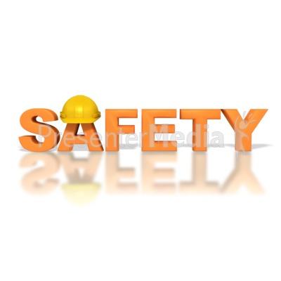 Safety Hardhat PowerPoint Clip Art