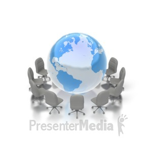 ID# 2973 - World Conference - Presentation Clipart