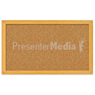 Blank Bulletin Board PowerPoint Clip Art