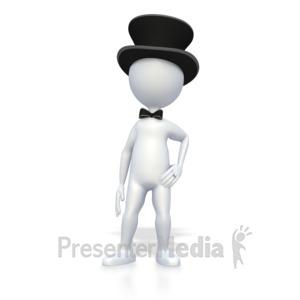 ID# 3237 - Wedding Groom - Presentation Clipart