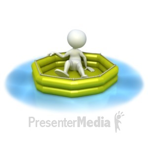 ID# 3350 - Lost at Sea  - Presentation Clipart