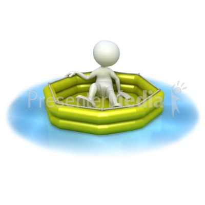Lost at Sea  PowerPoint Clip Art