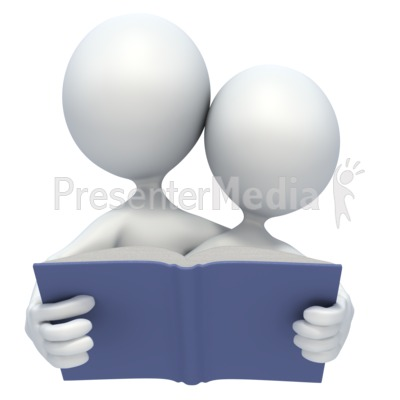 Read Together PowerPoint Clip Art