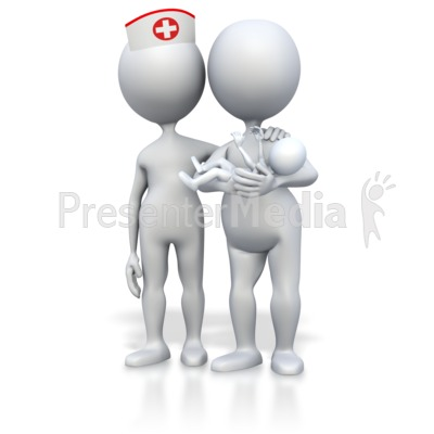 Presenter media powerpoint templates 3d animations and clipart id 3427 mom baby and midwife nurse presentation clipart toneelgroepblik Images