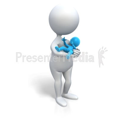 Mom Holding Baby Boy - Medical and Health - Great Clipart ...